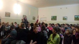 Одна з груп відвідала школу-інтернат